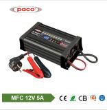 12V 5ah Automatic Lead Acid External Mini Car Battery Charger