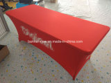 Advertising Stretch Material Printed Table Cover Table Cloth Tablecloth (XS-TC41)