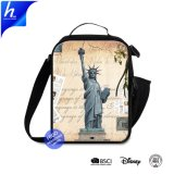 2019 The Statue of Liberty Insulated Picnic Bag Crossbody Cooler Bag 600d