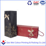 Luxury Printable Coated Paper Bag for Packaging Wine Box