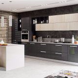 Modern Simple Wood Modular Kitchen Cabinet Indoor Furniture