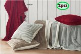 Pumping Flannel Throw & Cushion Sets Sft03ab038