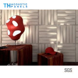 Fire Proofing Polyester Fiber Interior Decorative 3D Wall Panel for Restaurant/Hotel
