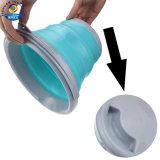 Plastic Folding Bucket portable Outdoor Folding Water Car Washing