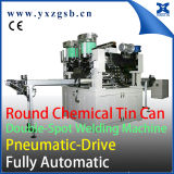 Tailor Made Fully Automatic 1-5L Chemical Tin Can Making Double Spot Welding Machine
