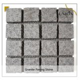 Light Grey Cube Paving Stone Tile Natural Basalt Floor Granite Paving Tiles for Garden Landscape Driveway