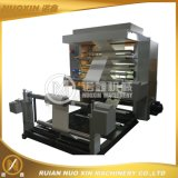 Two Color Plastic Film Flexographic Printing Machinery