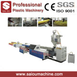 PP PE Single Wall Corrugated Pipe Extrusion Making Machine