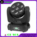 Stage 7X10W RGBW 4in1 Mini LED Moving Head Beam Light
