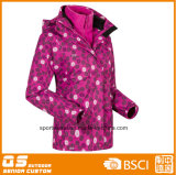 Women′s Printed Fashion 3 in 1 Sport Jacket