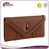 Fashion Cheap Wholesale Price Top Quality PU Leather Envelope Wallet Women Wallet