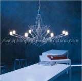 Creative Personality Design Iron Art Suspension LED Eiffel Tower Chandelier