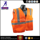 Wholesale High Quality Custom Logo Reflective Safety Vest with En20471