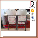 Cheap Lightweight Metal Folding Plastic Chairs for Sale (BR-P012)