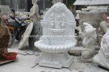 White Carrara Stone Sculpture Wall Fountain (SY-F114)
