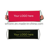 Cheap Custom 27X9 Digital Printing Polyester Advertising Hand Held Scrolling Banner