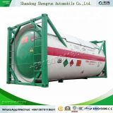 Shengrun 20FT Shipping Liquid Natural Gas Cryogenic Pressure Storage LPG LNG Lar Lair Lin Lox N2o Methane Ethylene Steel Tank ISO Storage Tank Container ASME