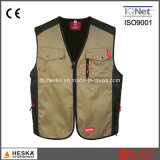 Work Clothing Men′s Poly Cotton Vest