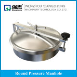 Sanitary Stainless Steel Tank Parts Round Atmospheric Pressure Manhole Cover