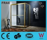 Tempered Glass Shower Door Shower Bath Room Double Sliding Shower Cabinet with Side Panel