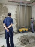 Construction Site Building Wall Cement Mortar Stucco Plaster Machine Render Machinery