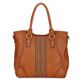 Classic China Supplier Fashion Zipper Leather Bags Women (MBLX033055)