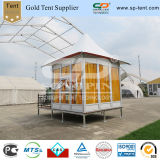Wind Proof Aluminum Gazebo Resort Tent for Outdoor Camping Used