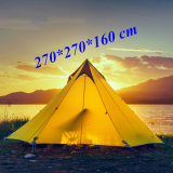 2 or 3 Persons 15D Silnylon Big Pyramid 3 Seasons 2 Layer Outdoor Camping Tent