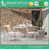 Patio Dining Chair with Cushion Hotel Rattan Chair Garden Wicker Dining Table Outdoor Weaving Chair (Sara dining set) Furniture