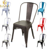 Colorful Metal Dining Chair for Restaurant Coffee Shop Cafe