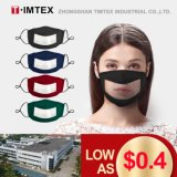 Timtex Factory Direct Wholesale Communicator Cloth with Clear Window and Nose Wire Lip Reading Smile Cotton Transparent Masks