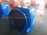 Ewr Series Bevel Helical Horizontal Foot Mounted Gear Reducer, Gear Units, with or Without Motor (EWR37-167)