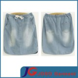 Factory Straight Women Denim Skirt (JC2049)