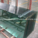 4mm Clear Chemical Tempered Glass with Holes