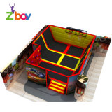 Hot Selling Indoor Bungee Jumping Trampolines Park for Adult