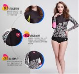 2016 Hot Sale Women′s Lycra Swimwear&Digital Printed Wetsuit (722)