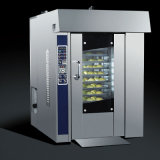 Stainless Steel Rotory Oven with Rack and Burner