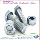 Galvanized Hexagon Hex Head Bolt with Nut