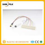 16cores 24cores Om3 Om4 MPO MTP Elite Fiber Optic Connectors