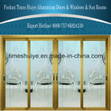 Factory Direct Price High Quality Decorative Aluminum Sliding Door for Villa