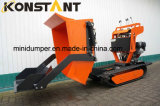 Rubber Track Tractor Hydraulic Mini Skid Steer Loader Dumper Muck Truck