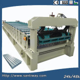 Steel Roof Cold Roll Forming Machine Made in China
