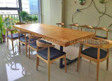 Solid Wooden Dining Table Living Room Furniture (M-X2395)