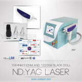 Long Pulse ND YAG Laser Tattoo Removal Laser, Three Wavelength 1320nm/1064nm/532nm, Beauty Salon Equipment (VN-7)