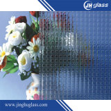 3/4/5/6mm Clear Colored Tempered Figured Pattern Glass
