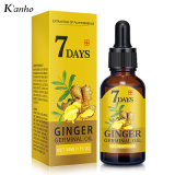 Best Seller 100% Natural Ginger Hair Oil Plant Extract 30ml Hair Growth Hair Care OEM Supplier