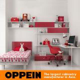 Oppein Lovely Lacquer Children Bedroom Set Kids Bedroom Cabinets (OP16-KID04)
