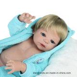 Full Silicone 22 Inch Doll Baby Reborn Boy Doll