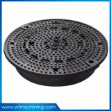 OEM Round Ductile Iron Manhole Cover with SGS/ISO Certified