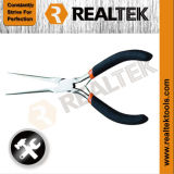 Mini Needle Nose Pliers with Bi-Color Dipped Handles